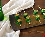 韭菜豆皮卷