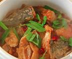 啫啫三文魚頭煲