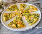 秋葵蝦仁雞蛋餅