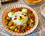 小熊咖喱牛腩飯