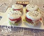 豆腐蓮藕米漢堡