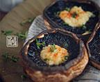 里昂黄油法香碎烤牛排菇