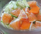 甜橙蔬菜一夜漬