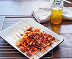 鐵板烤魷魚
