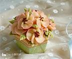豆沙蘋果花紙杯蛋糕