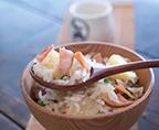 銅鍋火腿土豆燜飯