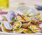 微波炉葱油花蛤