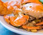 豆瓣酱焗蟹