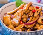 干鍋茶樹菇