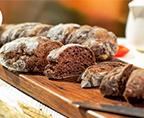 巧克力手拌面包