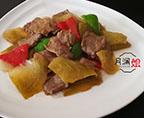 味菜炒牛肉