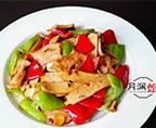 香干青椒炒肉片