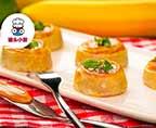 自制飞饼皮香蕉卷