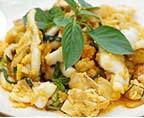 咸蛋黃炒魷魚