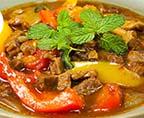 泰式咖喱牛肉