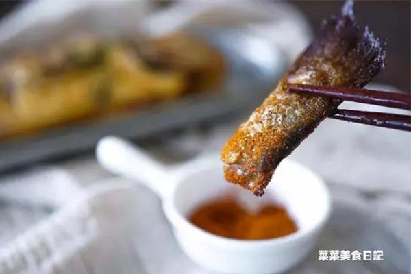 迷迭香烤黄花鱼