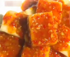 鱼香脆皮豆腐