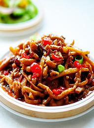 地道川菜 魚香肉絲