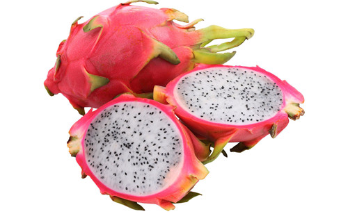 橡皮泥怎么做小动物   橡皮泥制作美味水果,这个火龙果做得也太像了吧图片