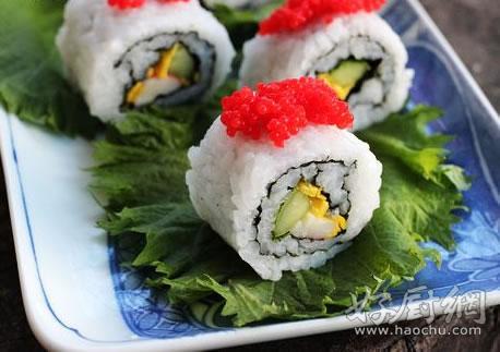 【鱼子酱寿司】鱼子酱寿司的做法大全