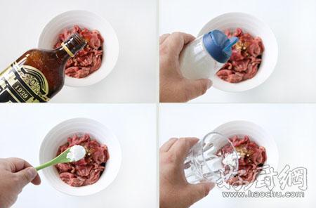 苦瓜炒牛肉的做法步骤_1