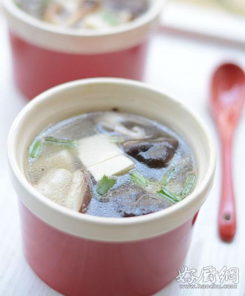 【图】教程香菇汤的图解豆腐 豆腐香菇汤的做野教程杨戬打图片