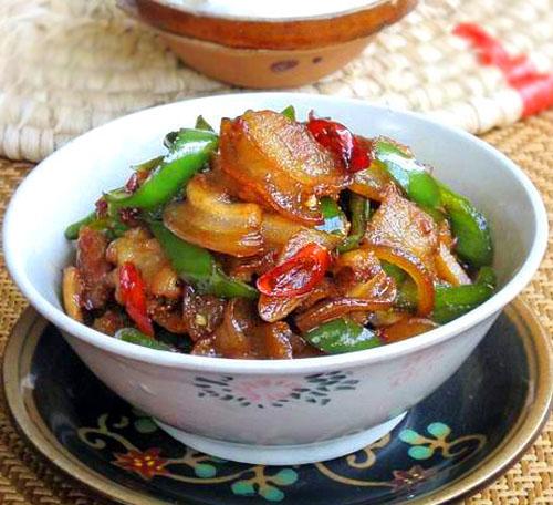 【食者美味】最原汁的农家菜:农家小炒肉 - 让爱依然 - 爱然博客