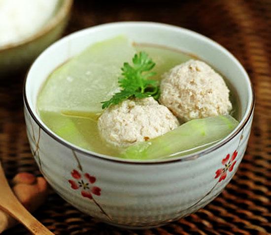 【冬瓜丸子汤】冬瓜丸子汤的做法大全_冬瓜丸子汤的做