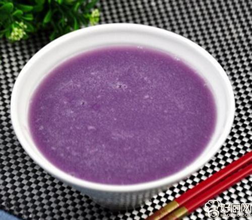 紫薯粥的做法_紫薯粥的家常做法_紫薯粥怎么做