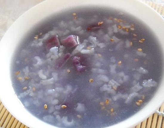 健康糙米紫薯粥的做法大全_健康糙米紫薯粥的家常做法怎么做好吃