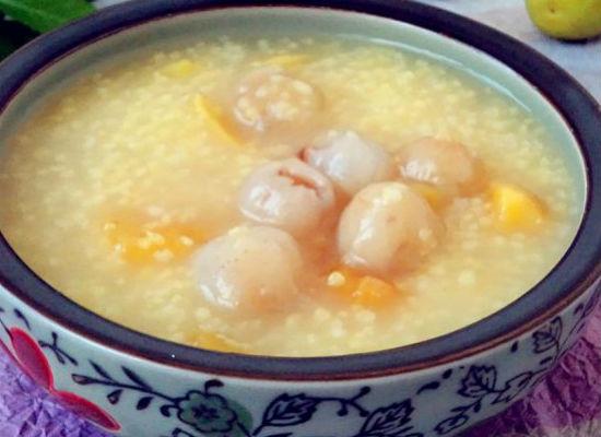 红薯桂圆小米粥的做法步骤_8