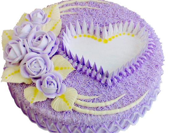 紫色玫瑰蛋糕的做法大全_紫色玫瑰蛋糕的家常做法怎么做好吃
