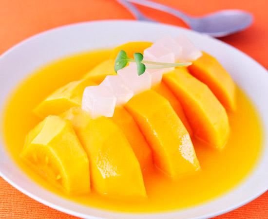 【橙汁玉米木瓜】橙汁玉米木瓜的做法大全