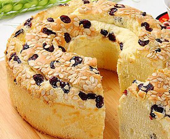 蔓越莓茶油戚风蛋糕的做法大全_蔓越莓茶油戚风蛋糕的家常做法怎么做好吃