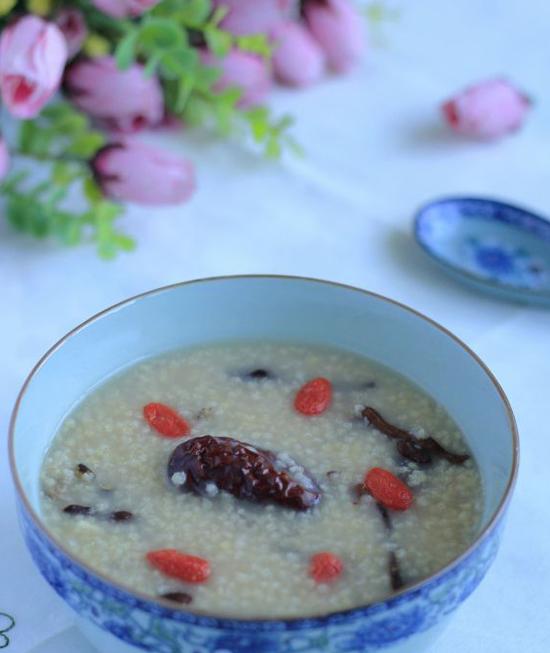 蕨麻小米粥的做法步骤_11