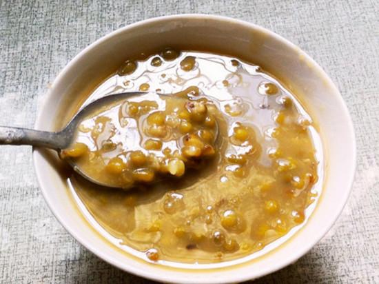 松软绿豆汤