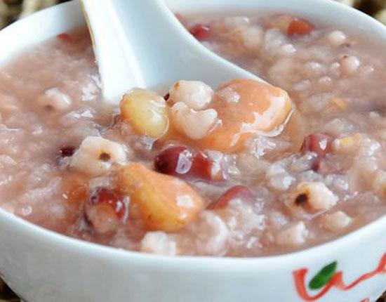 薏仁紅豆菱角粥的做法大全_薏仁紅豆菱角粥的家常做法怎么做好