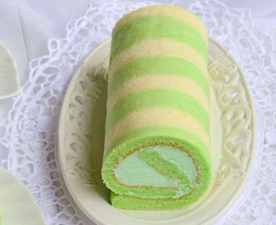 斑澜条纹蛋糕卷的做法大全_斑澜条纹蛋糕卷的家常做法怎么做好吃