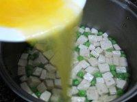 豌豆豆腐蛋花汤的做法步骤_9