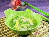 豌豆豆腐蛋花汤的做法步骤_10