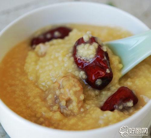 红枣小米粥的做法_红枣小米粥怎么煮