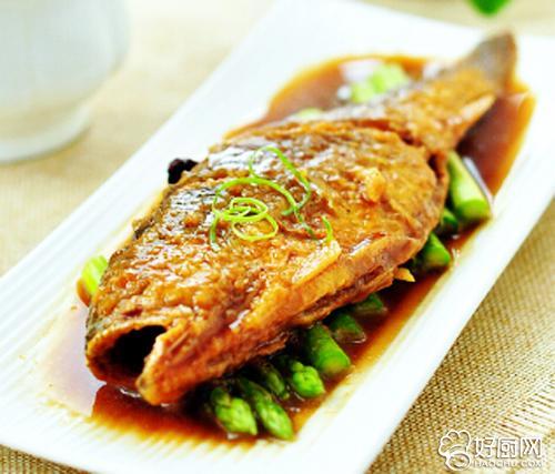 五香黄花鱼