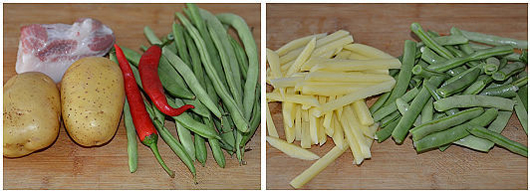 家常且美味的四季豆焖土豆_2