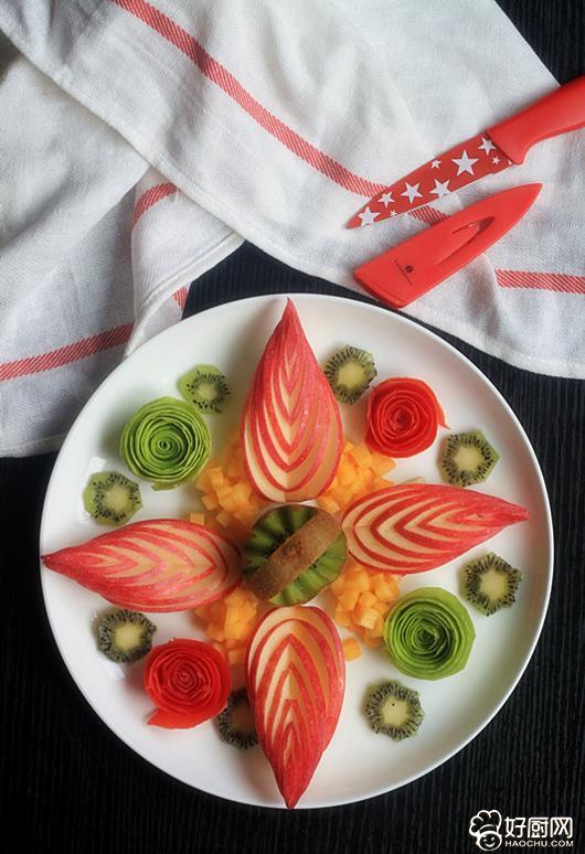 花样果盘的做法 花样果盘的家常做法大全怎么做好吃