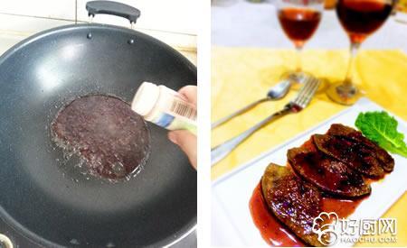法式红酒鹅肝的做法步骤_4