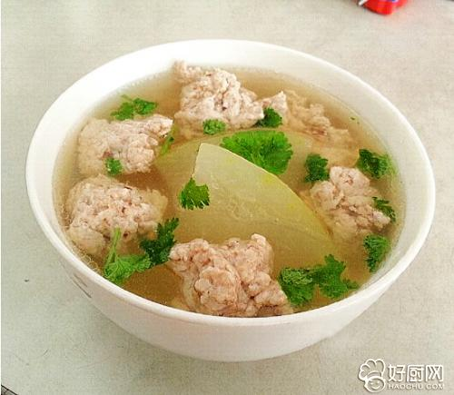 冬瓜肉丸汤的做法步骤_3