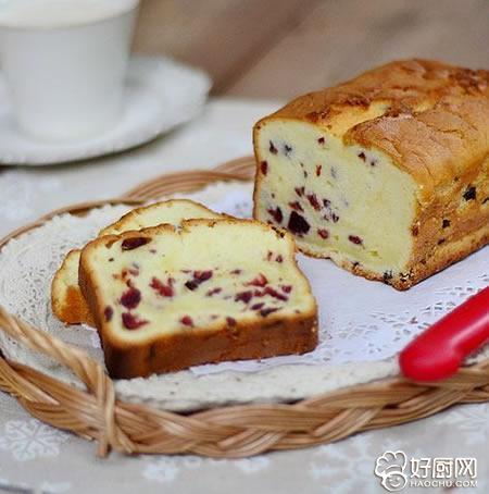 淡奶油蔓越莓蛋糕的做法_淡奶油蔓越莓蛋糕的家常做法大全怎么做好吃