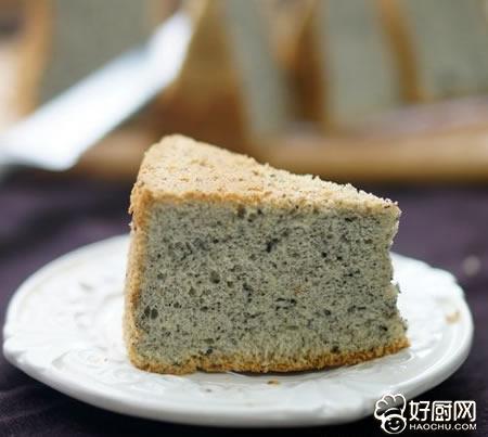 黑芝麻戚风蛋糕的做法_黑芝麻戚风蛋糕的家常做法大全怎么做好吃