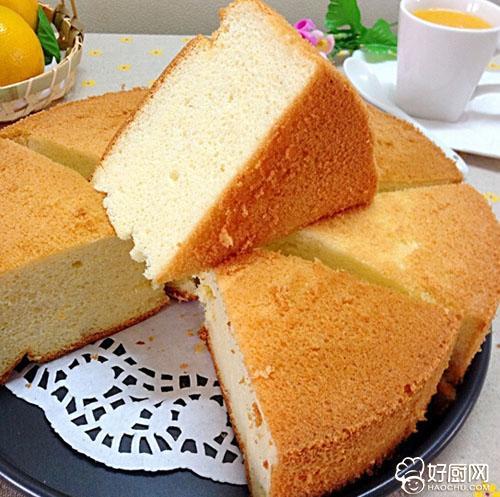 橙香戚风蛋糕的做法_橙香戚风蛋糕的家常做法大全怎么做好吃