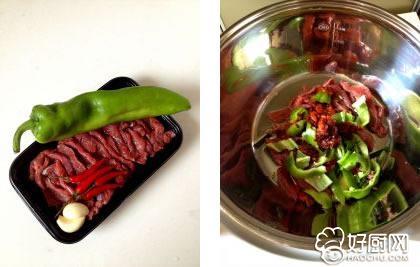 小炒黄牛肉的做法步骤_1